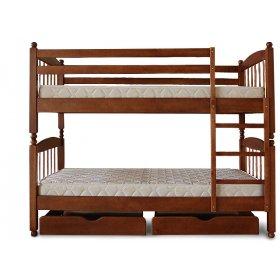 Кровать двухъярусная Трансформер 3 бук 80х190
