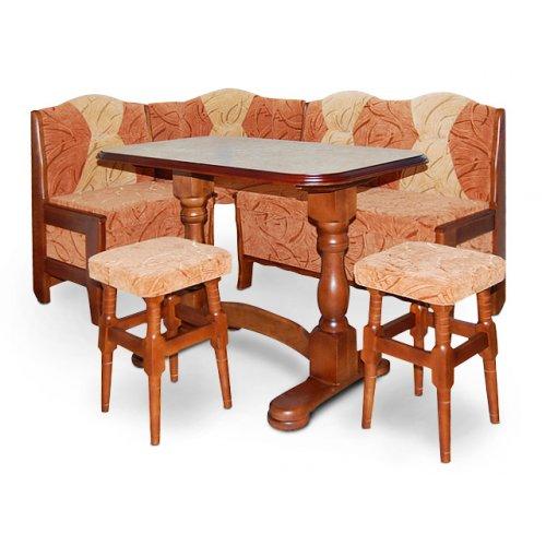Кухонный комплект Новый с раскладным столом Элегант