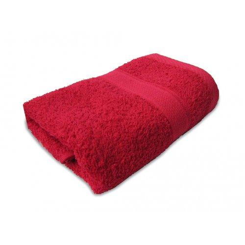 Махровое полотенце Магия комфорта Tango красный 100х150