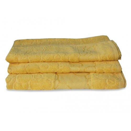 Махровое полотенце Португалия 40х75 Viola желтый 23