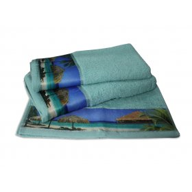 Махровое полотенце Романтика 35х70 Бали