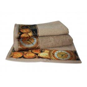 Махровое полотенце Романтика 35х70 Антик песочный