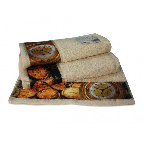 Махровое полотенце Романтика 35х70 Антик капучино