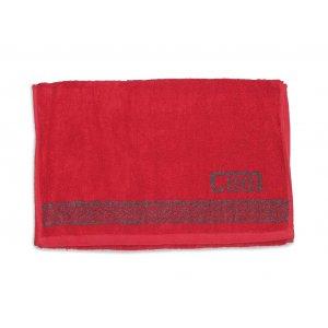 Махровое полотенце 35х70 Cool красный