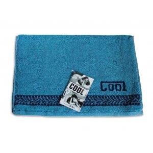 Махровое полотенце 35х70 Cool синий
