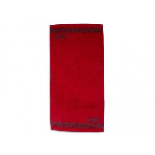 Махровое полотенце 60х130 Cool красный