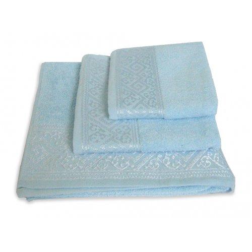 Махровое полотенце Португалия 40х75 Majolica небесно-голубой