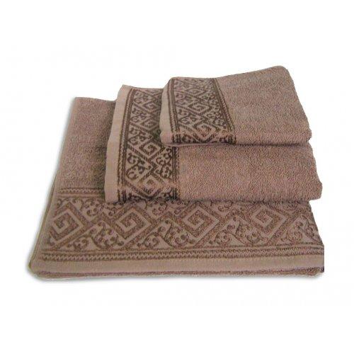 Махровое полотенце Португалия 40х75 Majolica мокка