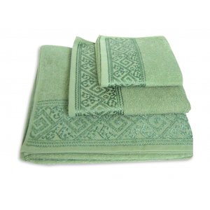 Махровое полотенце Португалия 40х75 Majolica травяной