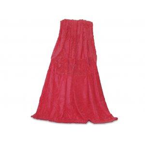 Плед 150х200 микрофибра рельеф Win Collection Brilliance волна