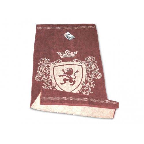 Махровое полотенце 50х90 Cool Bravery мокко