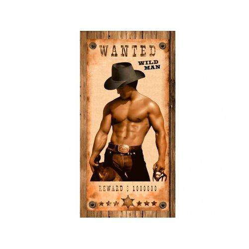 Махровое полотенце 80х160 Cool Wild Man