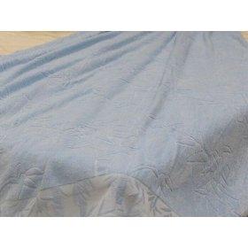 Простыня махровая Романтика 150х200 г/к бамбук Blue