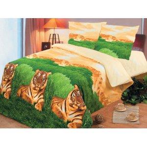 Семейный комплект постельного белья Бенгалия