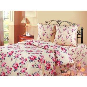 Полуторный комплект постельного белья Розовые грезы
