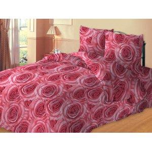 Семейный комплект постельного белья Океан роз