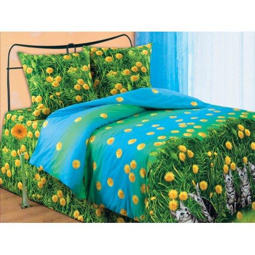 Семейный комплект постельного белья Котята