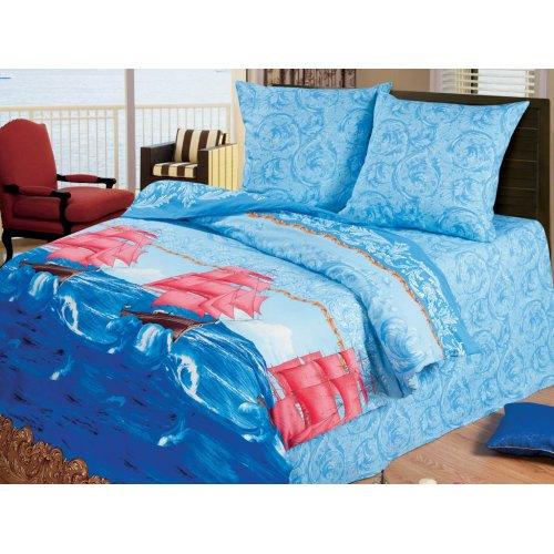 Двуспальный комплект постельного белья Алые паруса