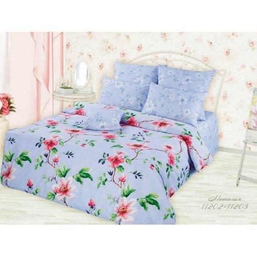 Полуторный комплект постельного белья Магнолия