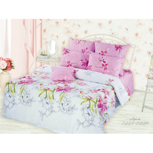 Полуторный комплект постельного белья Адель
