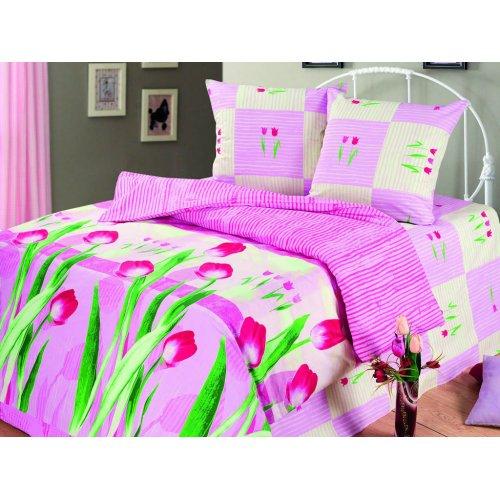 Семейный комплект постельного белья Аромат Весны