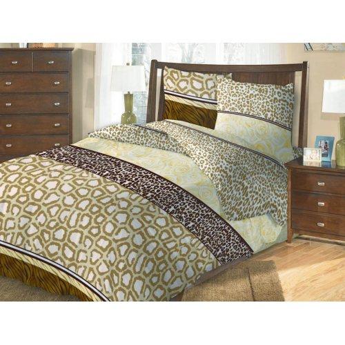 Семейный комплект постельного белья Аджани