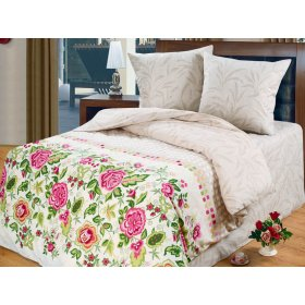 Двуспальный комплект постельного белья Мелиса