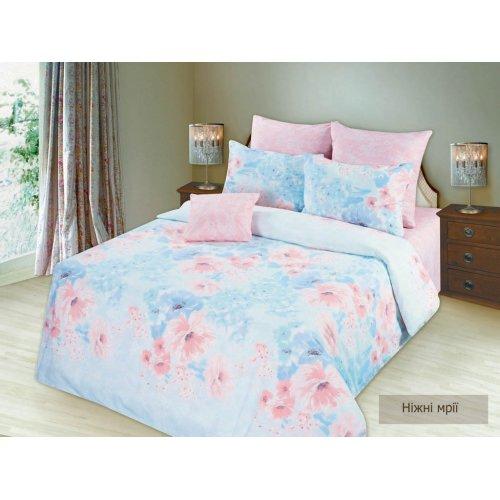 Семейный комплект постельного белья Нежные мечты