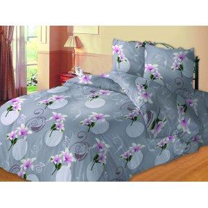Семейный комплект постельного белья Лилия