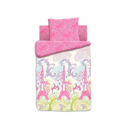 Полуторный детский комплект постельного белья FOR YOU Мечты о Париже
