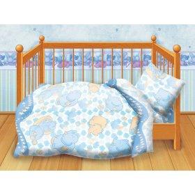 Детский комплект постельного белья Кошки-мышки Спокойной ночи