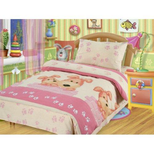 Комплект постельного белья Непоседа Собачки 1