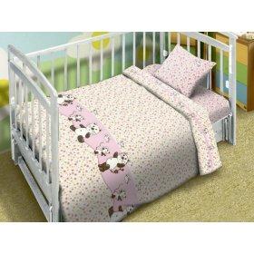 Детский комплект постельного белья Мой Ангел Котята-мышата