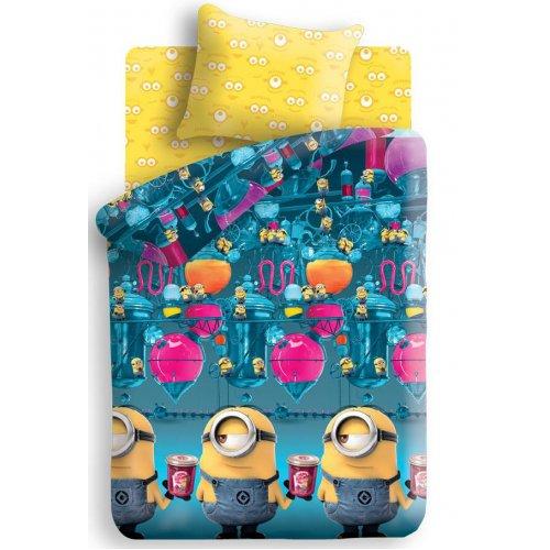 Полуторный комплект постельного белья Миньоны Фабрика