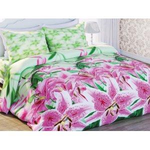 Полуторный комплект постельного белья Лилия