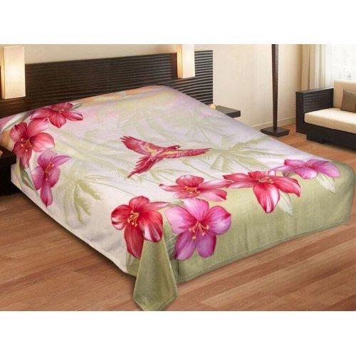 Плед флис 150х200 Любимый дом Бали