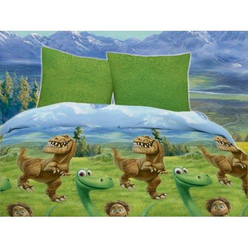 Полуторный комплект постельного белья Динозавр