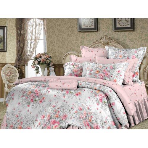 Двуспальный-евро комплект постельного белья Тильда
