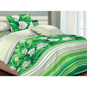 Полуторный комплект постельного белья Волшебные цветы