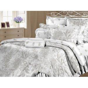 Полуторный комплект постельного белья Ирландское кружево
