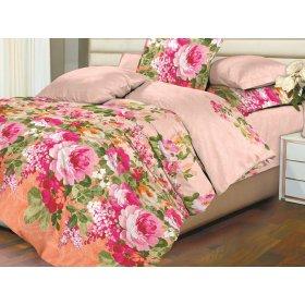 Двуспальный комплект постельного белья Розовые розы
