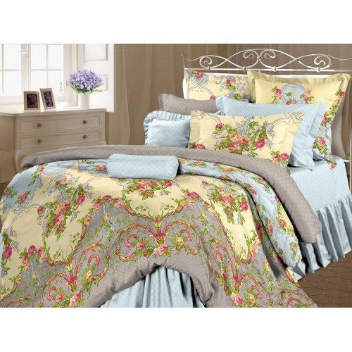 Двуспальный-евро комплект постельного белья Антуанетта