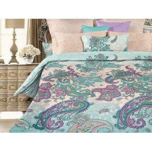 Двуспальный комплект постельного белья Ламберти наволочки 50х70