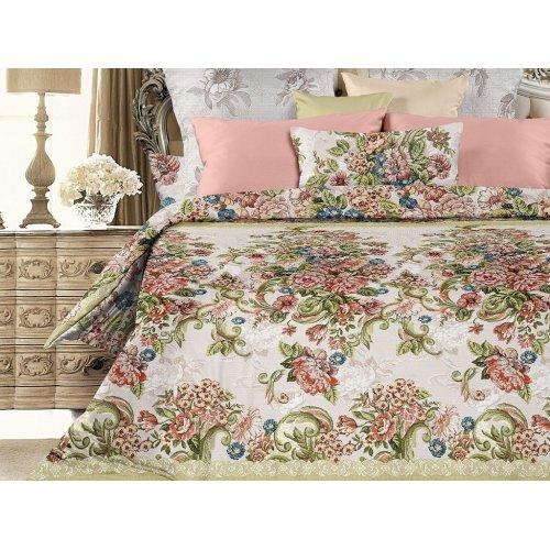 Двуспальный-евро комплект постельного белья Императрица