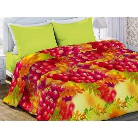 Двуспальный-евро комплект постельного белья Рябина