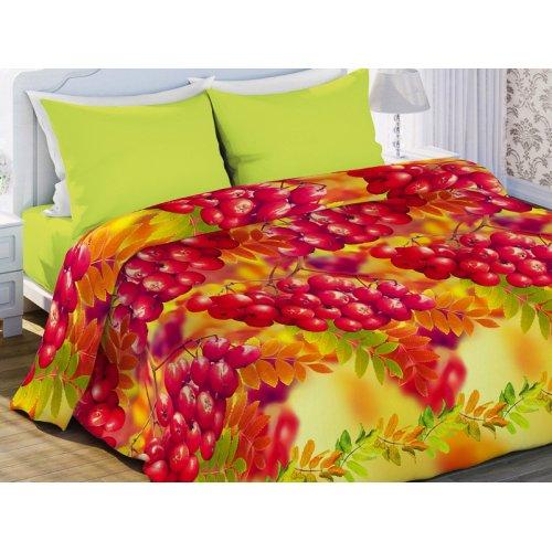 Двуспальный комплект постельного белья Рябина