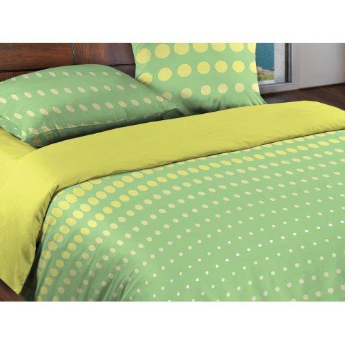 Двуспальный комплект постельного белья Dot Green
