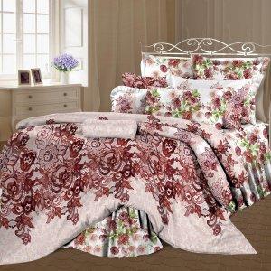 Двуспальный-евро комплект постельного белья Соломия