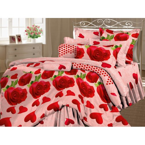 Комплект постельного белья Сладкая любовь евро