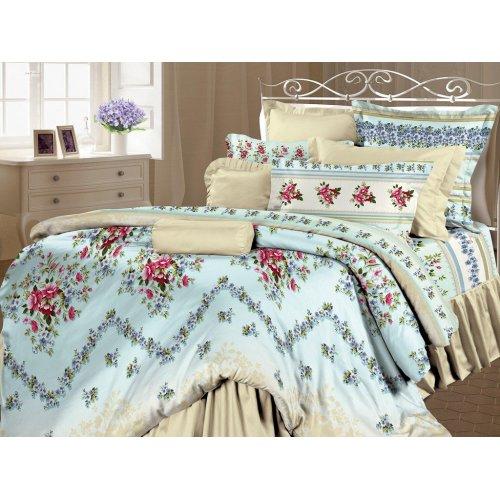 Двуспальный комплект постельного белья Виолета